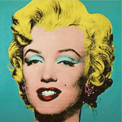 Andy Warhol, Turquoise Marilyn, 1962.